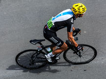 The Australian Cyclist Porte Richie Royalty Free Stock Photography