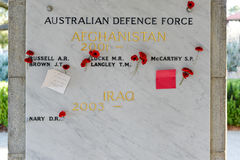 Australian Defence Force Memorial - Cenotaph, Kings Park Stock Photography