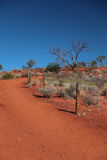 Australian desert Stock Photography
