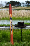 Australian Didgeridoo Stock Images