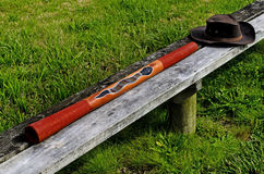 Australian Didgeridoo Stock Photos