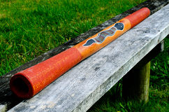 Australian Didgeridoo -Didjeridu Royalty Free Stock Images