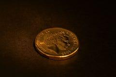 Australian dollar. Coin Stock Photography