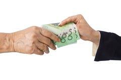 Australian dollar banknotes Stock Photo