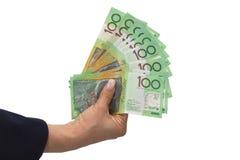 Australian dollar banknotes Royalty Free Stock Photography