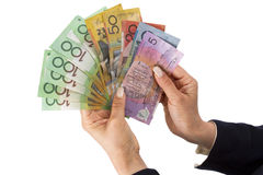 Australian dollar banknotes Stock Photo
