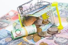 Australian Dollar banknotes Royalty Free Stock Photo