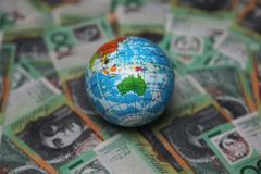 Australian 100 dollar bills Royalty Free Stock Photo
