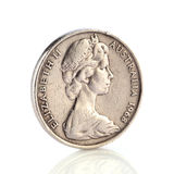 Australian dollar coin Royalty Free Stock Images
