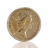 Australian dollar coin Royalty Free Stock Image