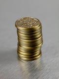 Australian Dollar Coins Royalty Free Stock Photos