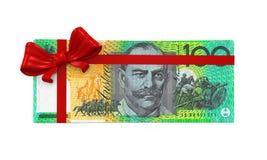 Australian Dollar Money Gift Royalty Free Stock Photo