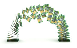 Australian Dollar Transfer Royalty Free Stock Image
