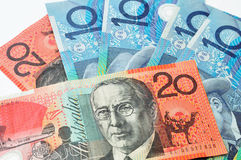 Australian dollars currency Stock Photos