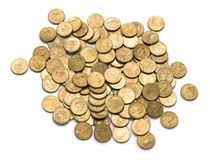 Australian Dollar Coins Money Royalty Free Stock Photos