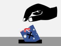 Australian election Royalty Free Stock Photos