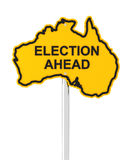 Australian election ahead Stock Photo