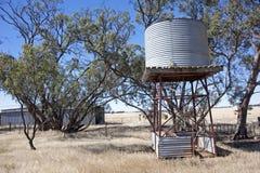 Australian farmland backyard Stock Image