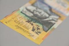 Australian Fifty Dollar Banknote Royalty Free Stock Image