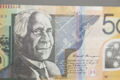 Australian Fifty Dollar Banknote Stock Photography