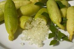 Australian Finger Limes Stock Images