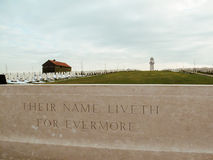 Australian First World War memorial in Villers-Bretonneux, Franc Royalty Free Stock Images
