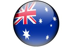 Australian flag stock illustration