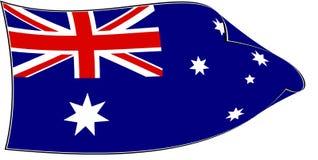 Australian flag Royalty Free Stock Photos