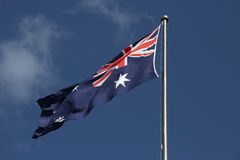 Australian Flag Royalty Free Stock Photography