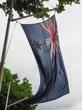 Australian Flag of Australia Stock Photography
