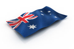 Australian. The Australian flag consists of cubes Royalty Free Stock Photography