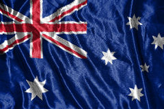 Australian flag.flag on background. Australian  flag.flag on background Stock Photography