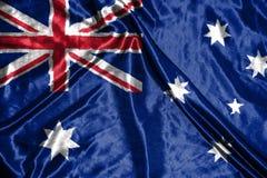 Australian flag.flag on background. Australian  flag.flag on background Stock Image