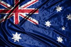 Australian flag.flag on background. Australian  flag.flag on background Stock Photos