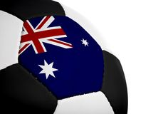 Australian Flag - Football Stock Photos