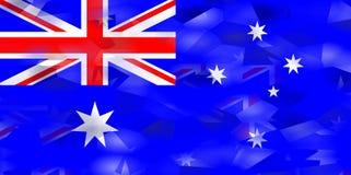 Australian Flag Royalty Free Stock Images