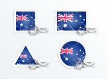 Australian flag Stock Photos