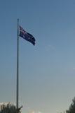 Australian flag. Was taken at sun set Royalty Free Stock Photo