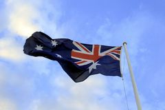 Australian Flag Stock Photography