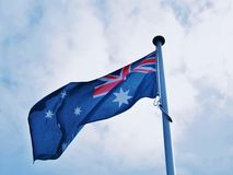 Australian Flag. Stock Photos
