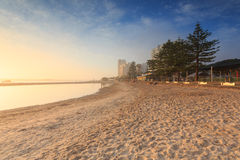 Australian foggy morning at Broadwater Stock Photography