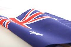Australian Folded Flag Stock Images