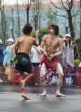 Australian folk dancers Stock Photography