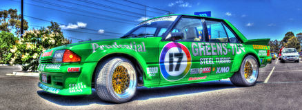 Australian Ford race car Stock Images