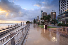 Australian foreshore early morning Royalty Free Stock Photos