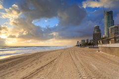 Australian foreshore early morning Stock Photo