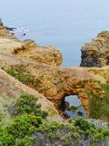 The Australian Grat Ocean Road. The grotto is a sinkhole geological formation found on the Great Ocean Road outside Port Campbell in Victoria in  Australia Stock Images