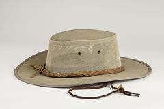 Australian hat. Outback style hat is great for business and dress wear as well as casual wear Royalty Free Stock Photography