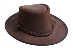 Australian hat royalty free stock photo