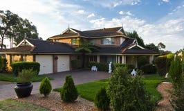 Australian home Stock Photography